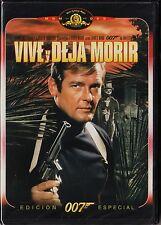 James Bond 007 nº  8: VIVE Y DEJA MORIR con Roger Moore. 1973