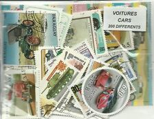 "Lot timbres thematique "" Autos"""