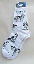 Adult Socks Siberian Husky Poses Fashion Footwear Dog Socks Size Medium 6-11