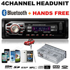 Bluetooth Car Audio Stereo Head Unit In Dash MP3 Player Handsfree USB/SD/AUX/FM