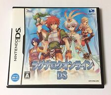 USED Nintendo DS Ragnarok Online DS JAPAN import Japanese game