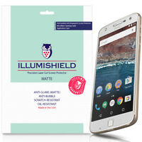3x iLLumiShield Matte Screen Protector Anti-Glare for Moto Z Play (Z Play Droid)