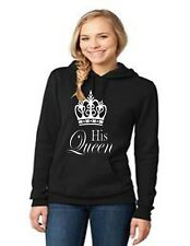 King & Queen Matching Couple Hoodies Love Matching His and Her Sweatshirts