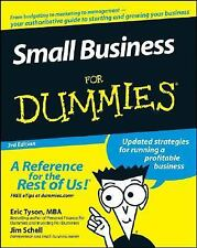 Small Business For Dummies (For Dummies (Business & Personal Finance))-ExLibrary