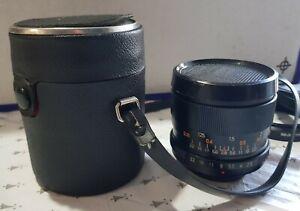 Auto Promura MC Screw Mount Camera Lens with Carry Case