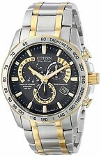 Citizen Watch - Mens Eco-Drive Perpetual Chrono A-T - AT4004-52E
