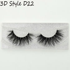9 Styles 3D Real Mink False Eyelashes Thick Cross Long Lashes Extension