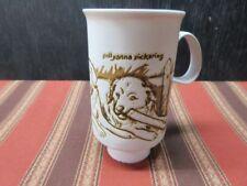 Dunoon Ceramics  - POLLYANNA PICKERING - 3 dogs Coffee/Tea Cup/mug - Scotland
