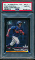 PSA 10 RONALD ACUNA JR. 1st 2017 Bowman Chrome MINI Rookie Card RC GEM MINT