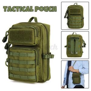 600D Tactical Molle Pouch Military Phone Waist Belt Sport Outdoor First Aid