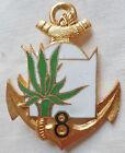 Insigne 8° RIC PALMIER Régiment Infanterie Coloniale ORIGINAL AFN GUERRE ALGERIE