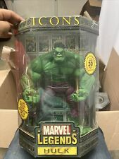 """Marvel Legends Icons The Incredible Hulk 12"""" 12 Inch Figure New In Box Rare"""