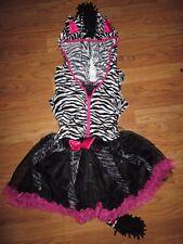 Girls ZEBRA Halloween Costume sz L Lg 12 -14 Costumes USA