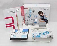 "Nintendo DS Love Plus + ""Manaka Deluxe"" Konami F/S Japan limited model blue"