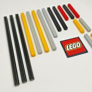 LEGO Technic Axles - Choose Length & Colour (Packs of 4) Design 4519, 3706, etc.