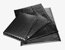 """Black Padded Bubble Mailers 7"""" x 6.75"""" Mailing Envelopes 250 Pieces by Ssbm"""