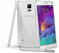 Original Samsung Galaxy Note 4 SM-N910A 32GB White Android Smartphone Very Good