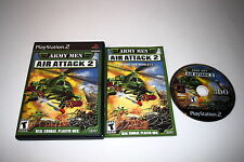 Army Men Air Attack 2 Sony Playstation 2 PS2 Video Game Complete