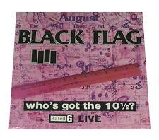 "BLACK FLAG - WHO'S GOT THE 10 1/2? - 12"" VINYL LP - RECORD ALBUM - SEALED & MINT"