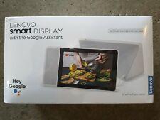 "NEW Lenovo Smart Display 8"" with Google Assistant - WiFi - ZA3R0003US - SD-8501F"