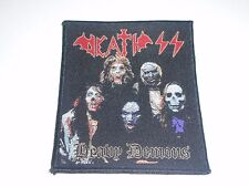 DEATH SS HEAVY DEMONS WOVEN PATCH