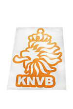 NETHERLANDS KNVB  LOGO FIFA WORLD CUP X - LARGE STICKER .. 8.25 X 11.75 INCH