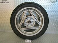 CERCHIO RUOTA POSTERIORE CON DISCO REAR WHEEL RIM CAGIVA BLUES 125 1988 1993