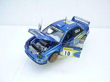 Solido Modellauto 1:18 Subaru Impreza WRC Nr. 10 Mäkinen Lindström