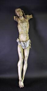 -  großer, sehr alter CHRISTUS TORSO -  H100cm