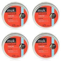 4 X MUK HARD MUK 50gr Brutal Hold Low Sheen Genuine /SAME DAY POST -Aus Store