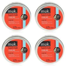 4 X MUK HARD MUK 50gr Brutal Hold Low Sheen Genuine /SAME DAY POST -Aus Store