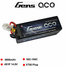 Gens Ace 4s 5800mah 14.8v 50c Lipo Battery Hardcase Xt90 Plug for Traxxas Slash