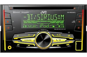 NEW JVC KW-R920BTS 200-Watt In-Dash Car Stereo Bluetooth CD Receiver iPod iPhone