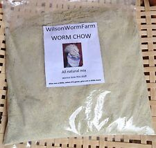 WORM CHOW 6 POUNDS RED WIGGLER WORM FOOD