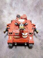 Warhammer 40k Space Marines Blood Angels Baal Predator