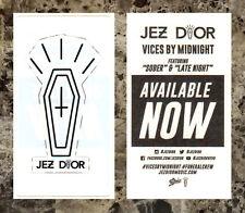 JEZ DIOR Vices By Midnight Ltd Ed New RARE Sticker +FREE Rap Hip-Hop Stickers!