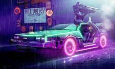 W765 24x36Inch Art Back to the Future 1 2 3 Custom Silk Poster - Classic Movie