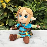 The Legend of Zelda Plush Link 25cm Breath of the Wild Stuffed Toy Cuddly Doll