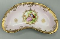 VTG Porcelain Arnart Original Creation Colonial Relish Serving Dish- Japan 7.25""