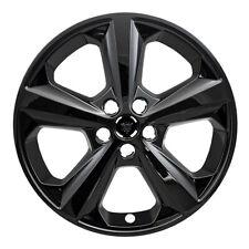 "18"" Black Wheel Skins Hubcaps FOR 2015 2016 2017 2018 Ford Edge SE (Set of 4)"