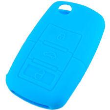 Blue Folding Flip Key Case Cover for VW Beetle Golf GL GLS VR6 GTI Jetta GL GLX
