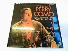 """CDM 1053 An Evening With Perry Como 12"""" Vinyl LP Camden 1970"""