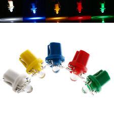 100Pcs T5 B8.5D 1SMD LED Lámpara luz del panel de instrumentos Auto Coche Dash Bombillas
