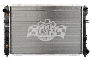 Radiator-1 Row Plastic Tank Aluminum Core CSF 2993