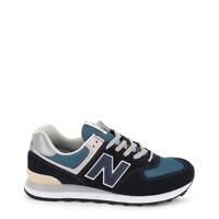 NEW BALANCE SCARPE UOMO Sneakers basse ML574ESS NERO BLU DECONSTRUCTED NUOVE