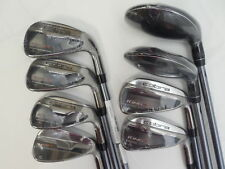 Brand New Cobra F6 Combo Iron set 3H-GW Irons Senior flex Graphite Matrix