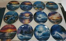 Year in Paradise  The Bradford Exchange Twelve Months Plates Dolphin Ocean Waves