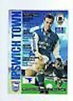 Ipswich V Wolverhampton Wanderers Programa 21st Mar 1998