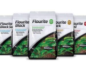 Seachem Flourite 7kg Planted Aquarium Fish Tank Substrate Red Dark Black Sand