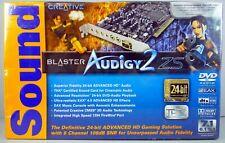 SoundBlaster Audigy2 ZS NEW Factory Sealed